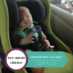 EcoMom Choice: Clek Convertible Carseat