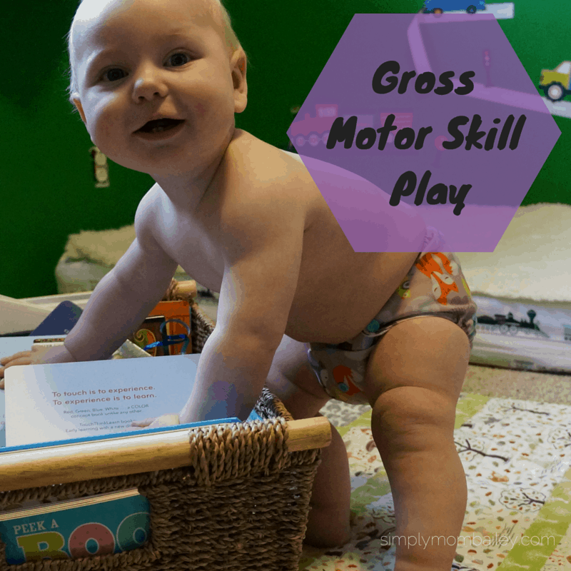 Play: Gross Motor Skill Development (6-9 Months)