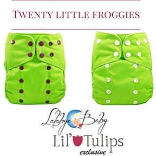 Lalabye Babye EXCLUSIVE - Twenty Little Frogs