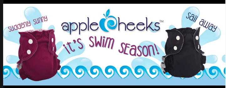 Apple Cheeks Swim Diapers - Suddenly Sunny & Sail Away