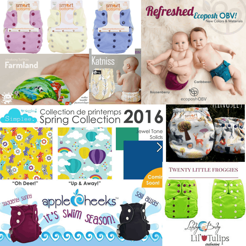Cloth Diaper Releases, April 16-22