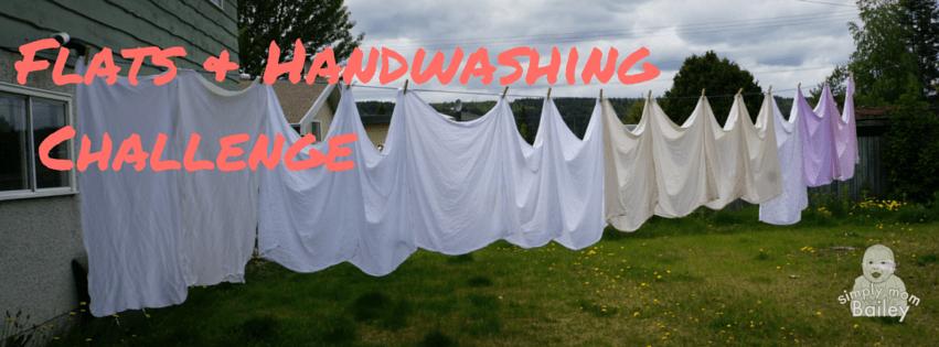 Flats & Handwashing Challenge 2016 - simplymomBailey