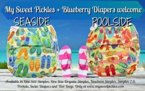 My Sweet Pickles Blueberry EXCLUSIVE Seaside and Poolside