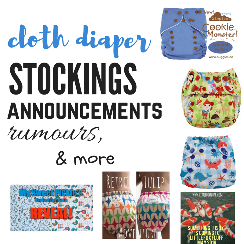 Weekly Cloth Diaper Update, April 23 – 30