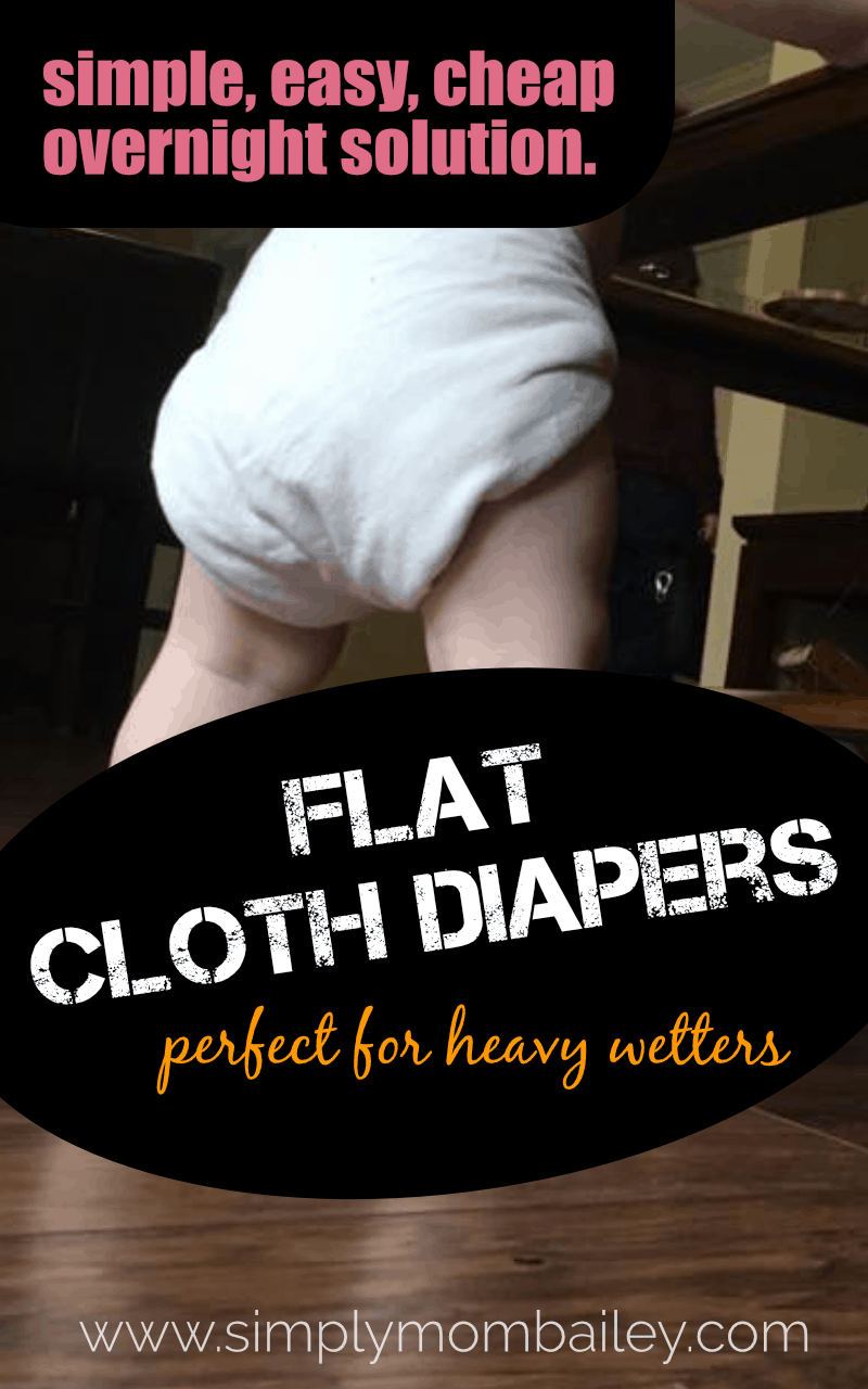 Looking for a cheap way to cloth diaper overnight? Even for heavy wetters? #clothdiapers #flatdiapers #cheapclothdiapers #cheapdiapers #overnights #infants #babies #toddlers #diaperneeds #handwash #crunchymom #cheap #savemoney #ecofriendly #reducereuse