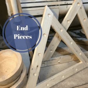 DIY Pikler Triangle - End Pieces