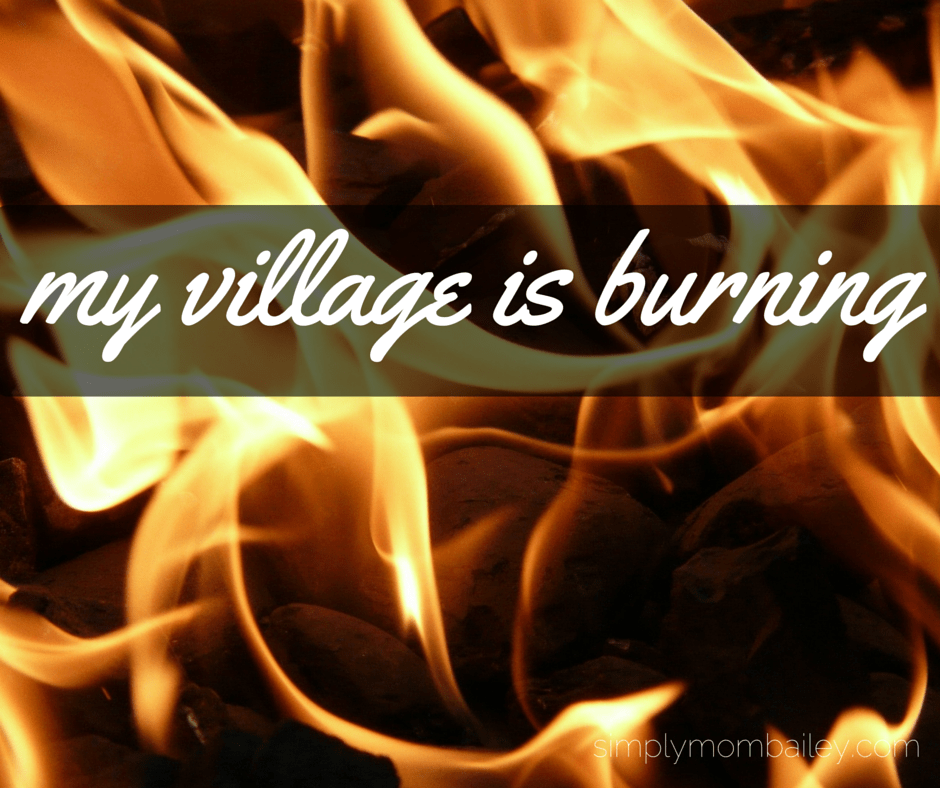 My Village is Burning