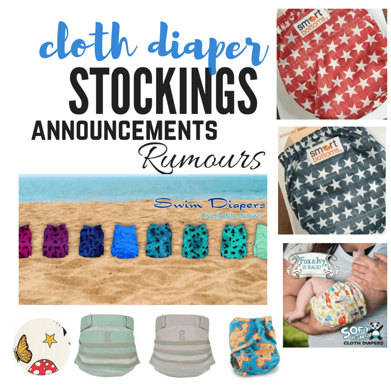 Cloth Diaper Release, June 4, 2016