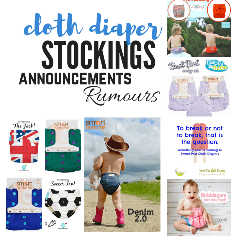 Cloth Diaper Releases – June 11, 2016