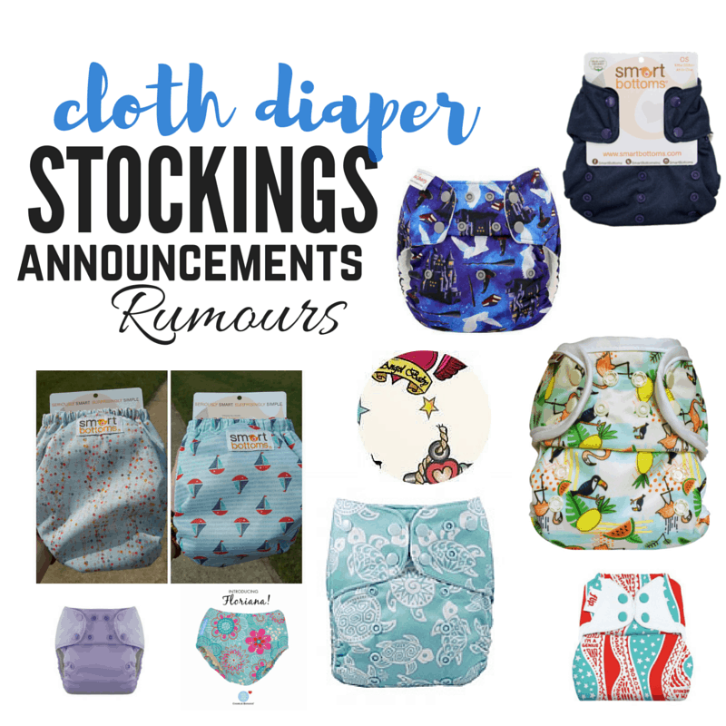 Cloth Diaper Releases – June 25, 2016