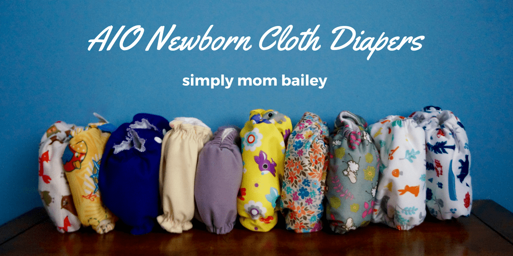 Newborn AIO Cloth Diapers: Absorbency