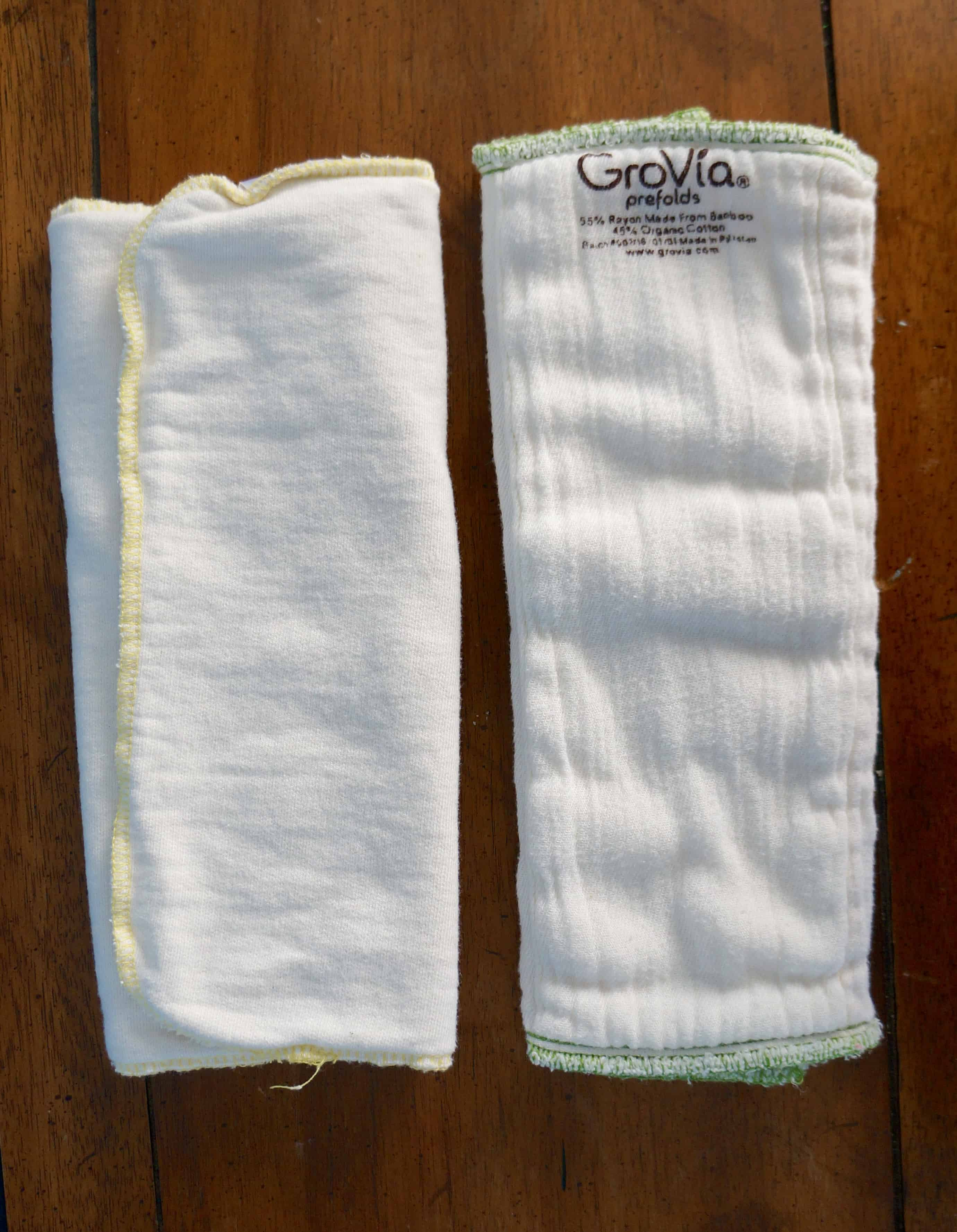 Nuggles! Size 1 Daytime Cotton/Bamboo Insert