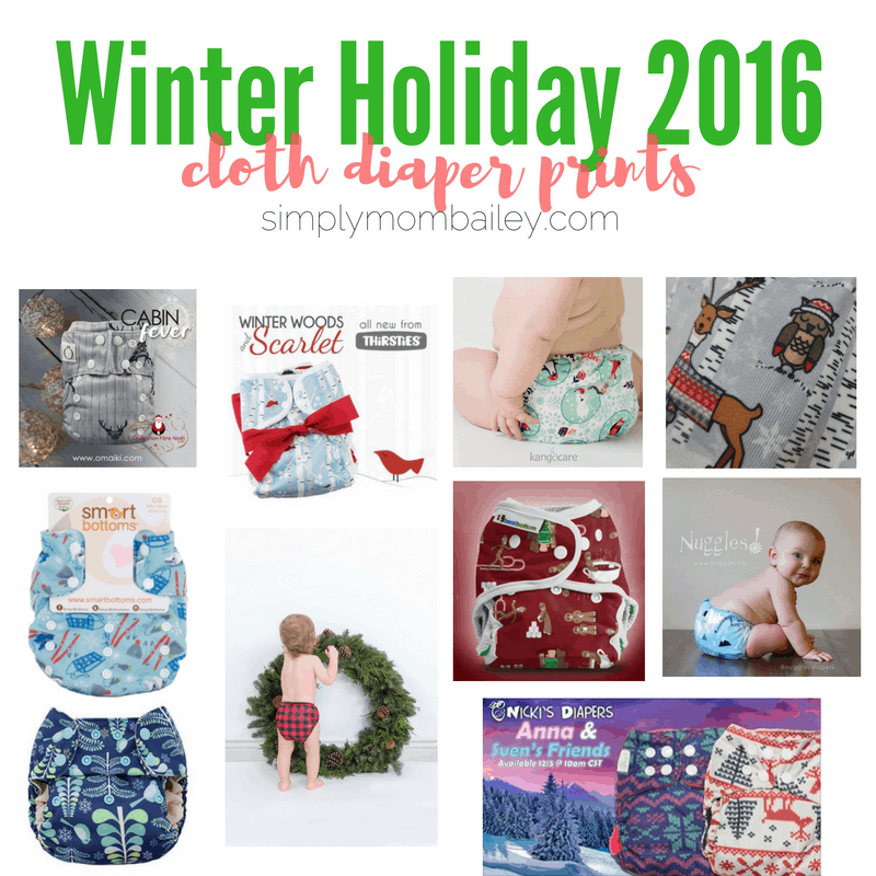 Holiday Cloth Diaper Releases 2016