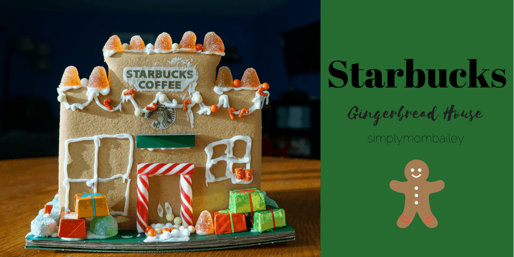 JFF – Starbucks Gingerbread House