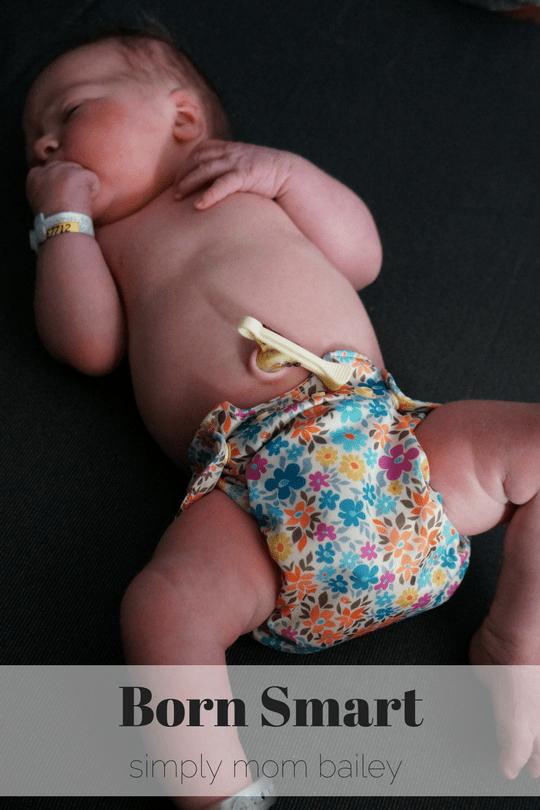 Born Smart Smartbottoms newborn irl
