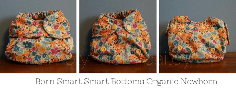 Born Smarts Smart Bottoms Organic Newborn Diaper