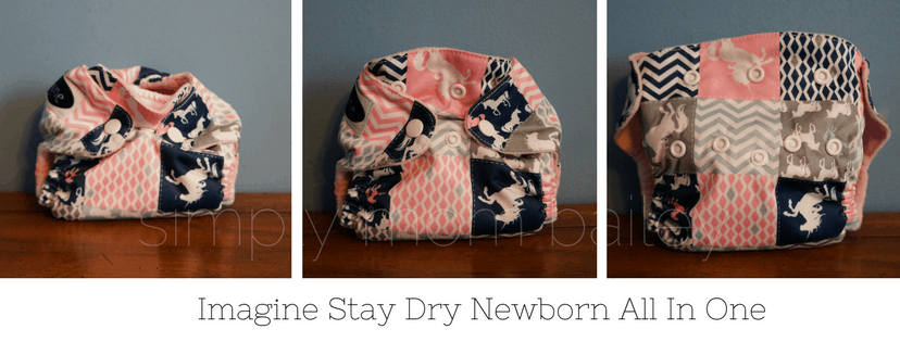 Imagine Stay Dry Newborn Diapers
