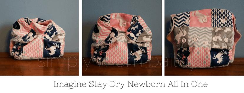 Imagine Stay Dry Newborn Diapers