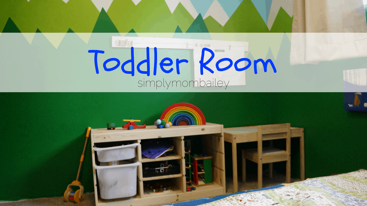 A Toddler Room for Little Man
