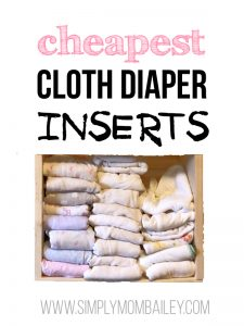 Cheapest Cloth Diaper Inserts for Baby and Toddler