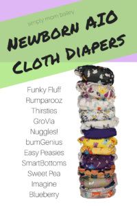 Newborn AIO Cloth Diapers
