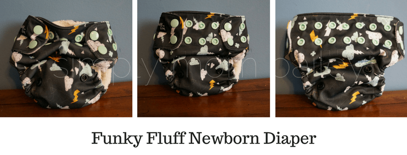 Funky Fluff Newborn Sizing