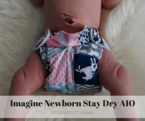 Imagine Newborn Stay Dry AIO-2