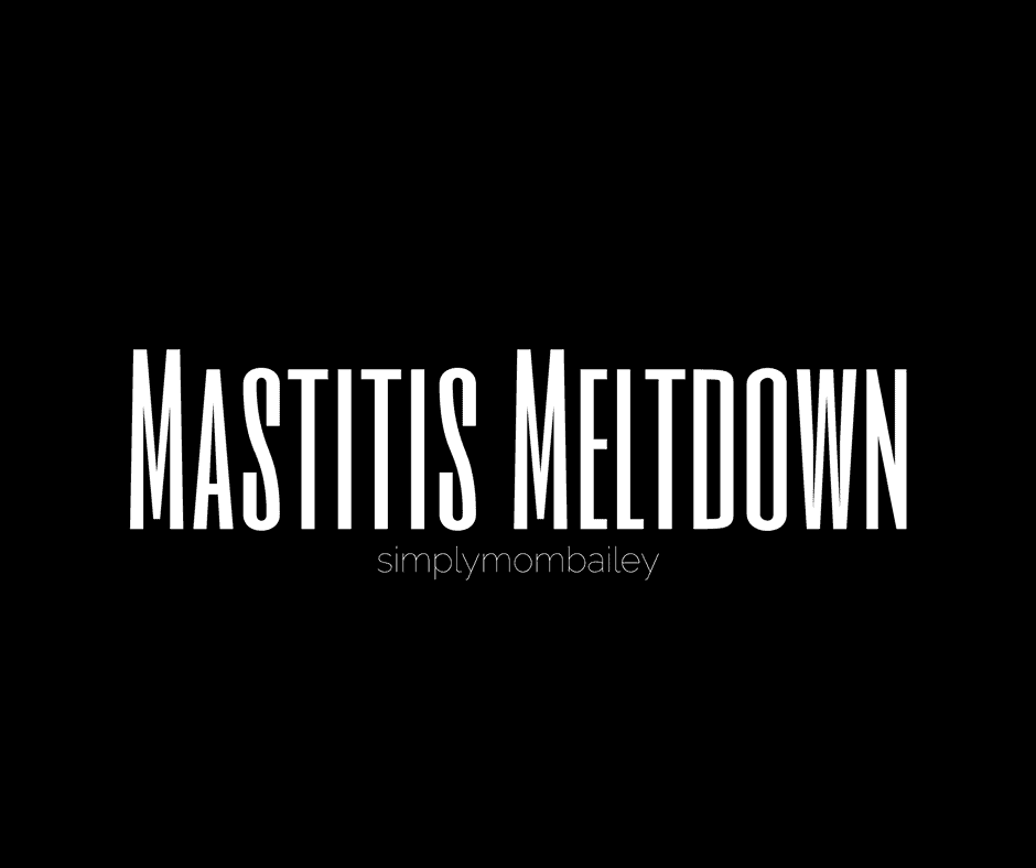 Mastitis Meltdown