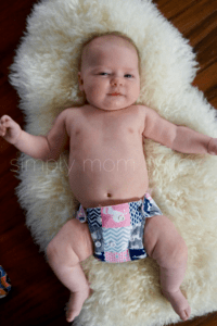 Newborn AIO Cloth Diapers at 12 Pounds Imagine Stay Dry