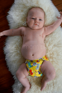 Newborn AIO Cloth Diapers at 12 Pounds Nuggles! Bittee