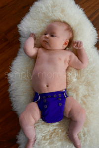Newborn AIO Cloth Diapers at 12 Pounds grovia newborn