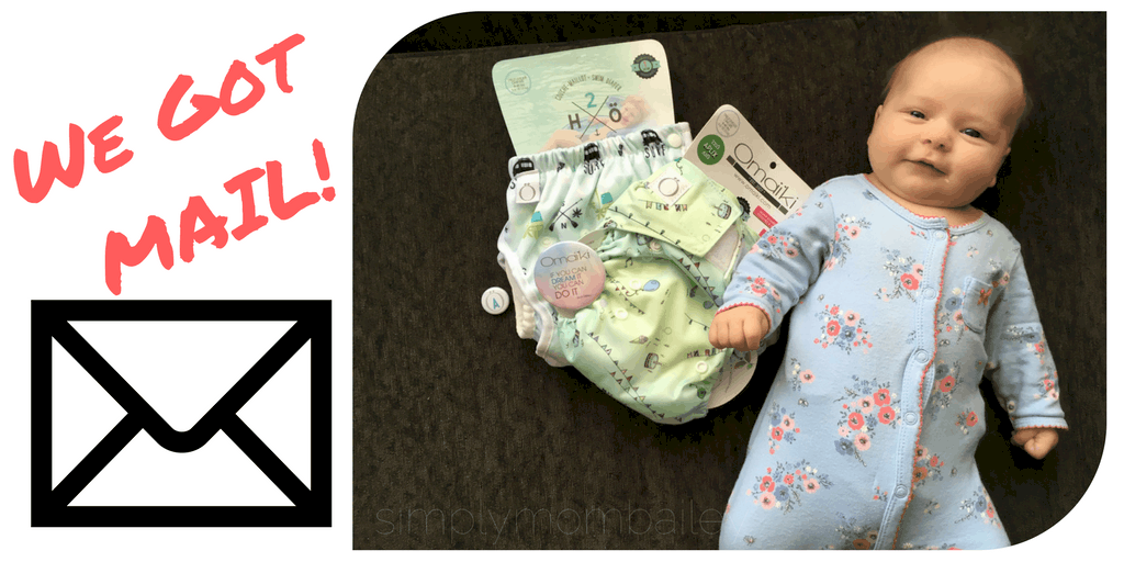 We got mail: omaiki cloth diapers