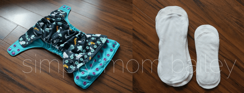 funky fluff newborn cloth diaper size comparison