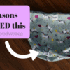 5 ReasonsYou NEED this - GroVia Zippered Wet Bag