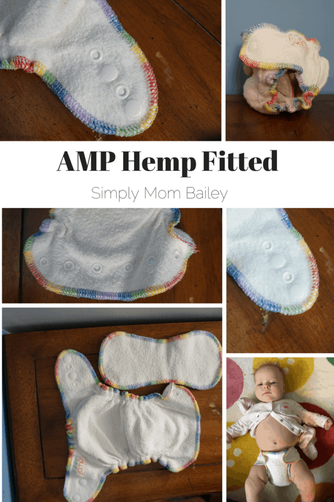 Check out the rainbow serving on the AMP Hemp Fitted. #clothdiapers This cute little fitted is a perfect fit and easy to use with tiny and chunky babies.