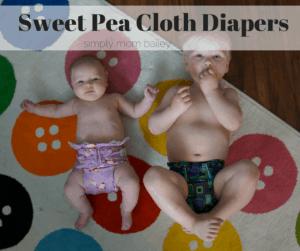 Sweet Pea Cloth Diaper