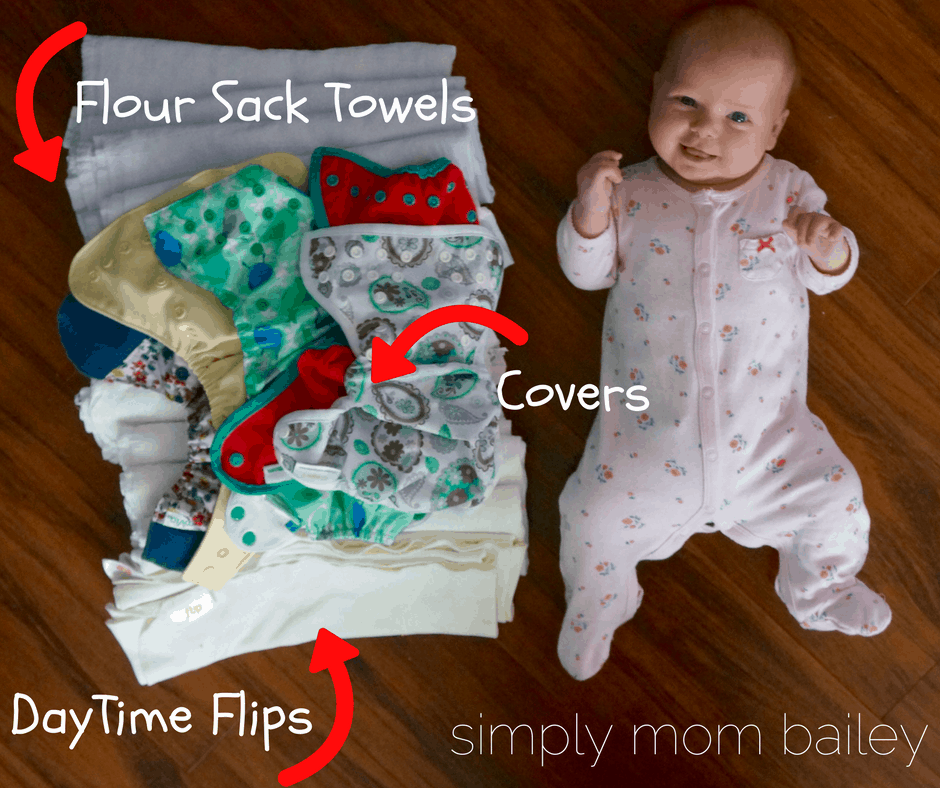 Flats and Hand washing Challenge - Baby Cloth Diaper Flat Stash