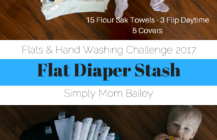 Flat Diaper Stash for 2