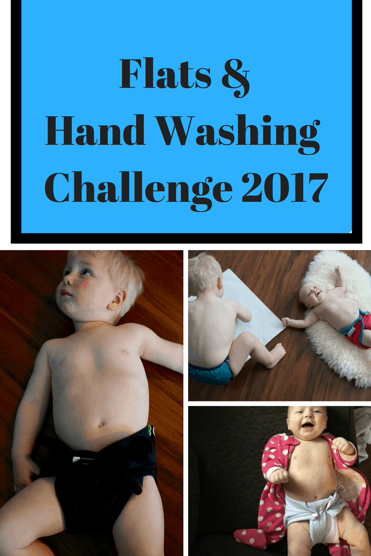 Flats & Hand Washing Challenge 2017 - flats challenge - cloth diapers