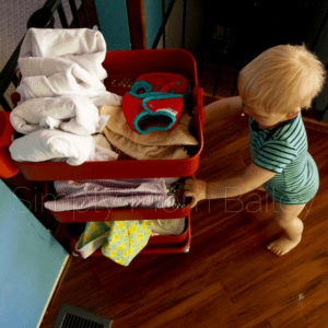 9 Lessons from the Flats & Hand washing Challenge 2017 - Cloth Diaper