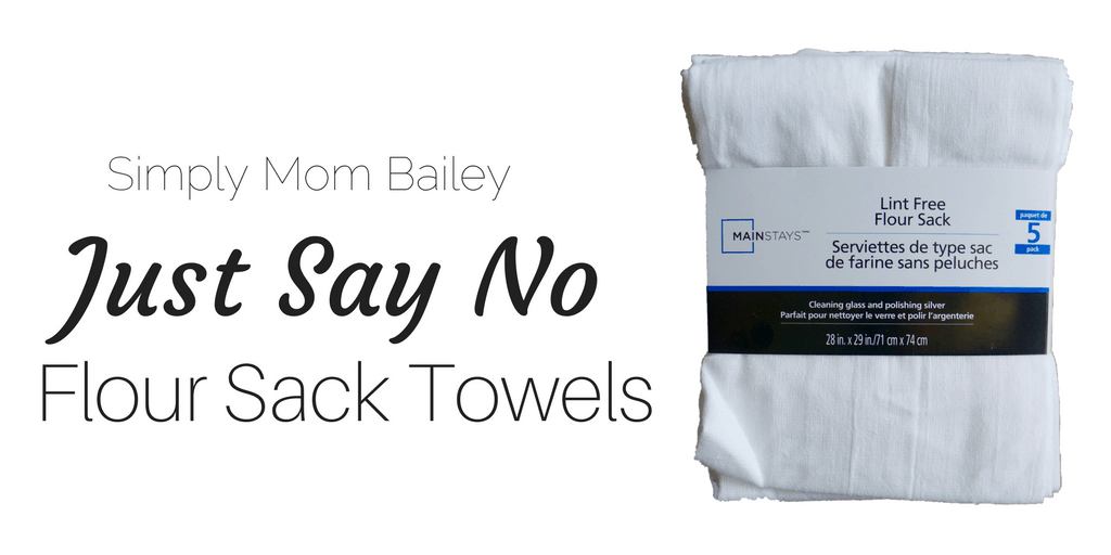 Just Say No to Flour Sack Towels for Diapers