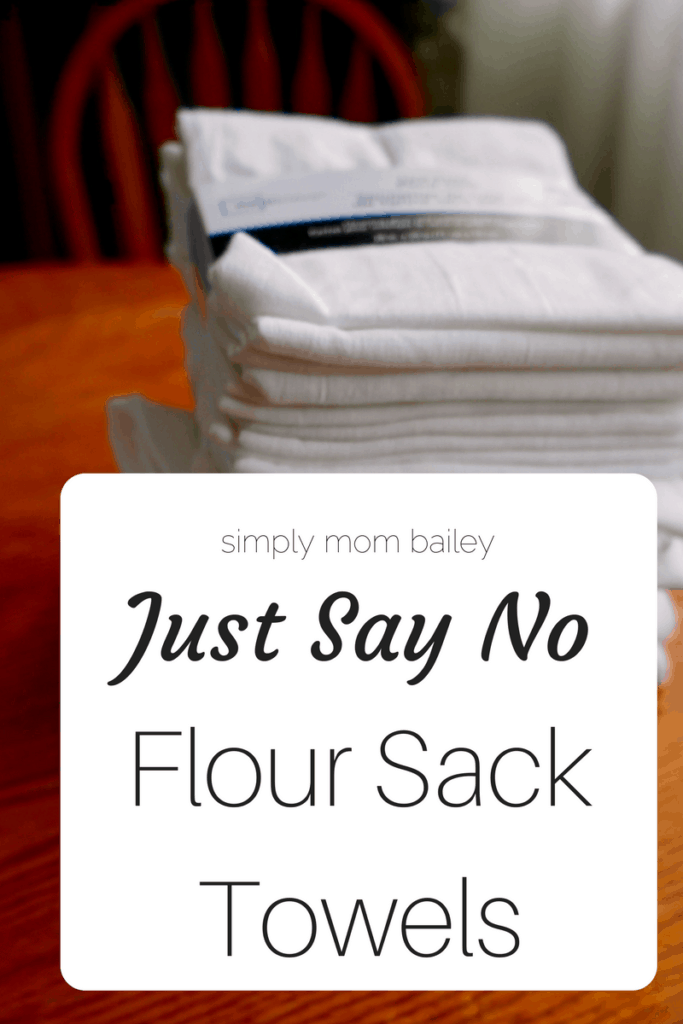 Just Say No to Flour Sack Towels for Diapers - Cloth Diapering Hacks