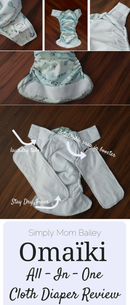 Omaïki AIO Cloth Diaper