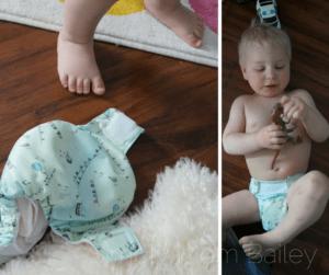 Omaïki AIO Cloth Diaper Review - Toddler Fail