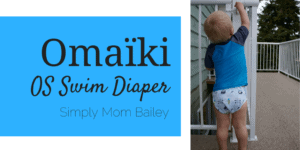 Omaiki Swim Diaper - Cloth Diapers - Toddler