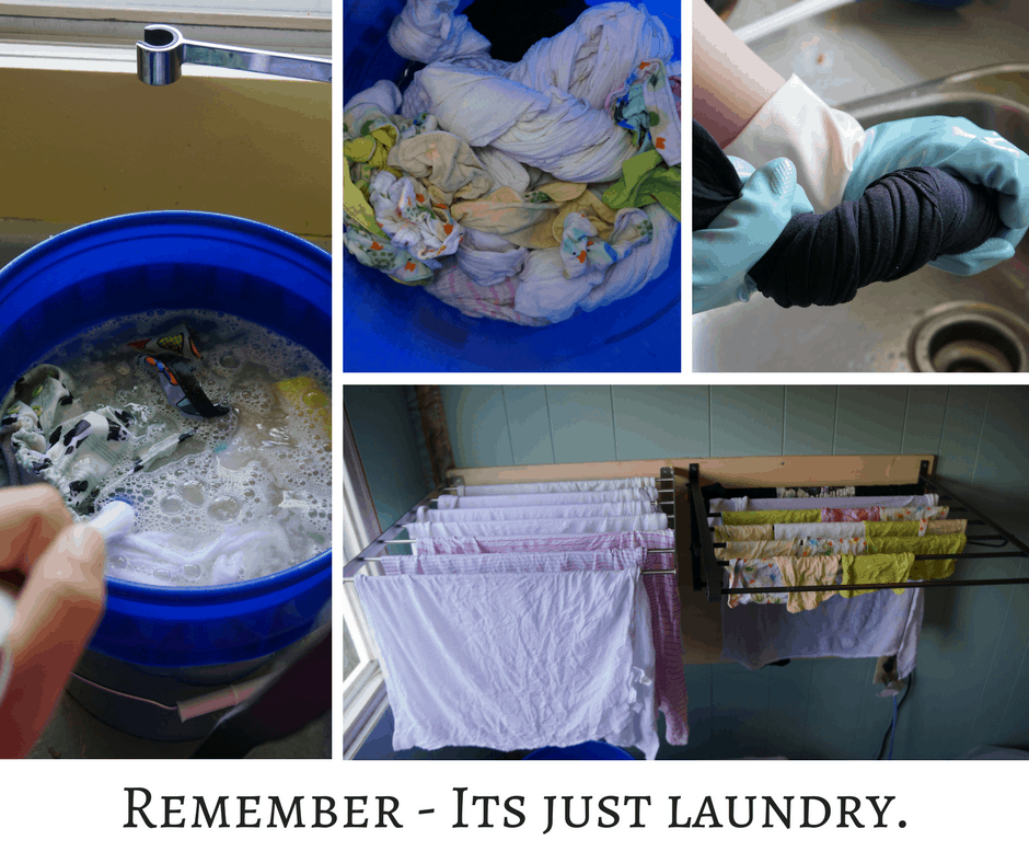 Remember - Its just laundry.