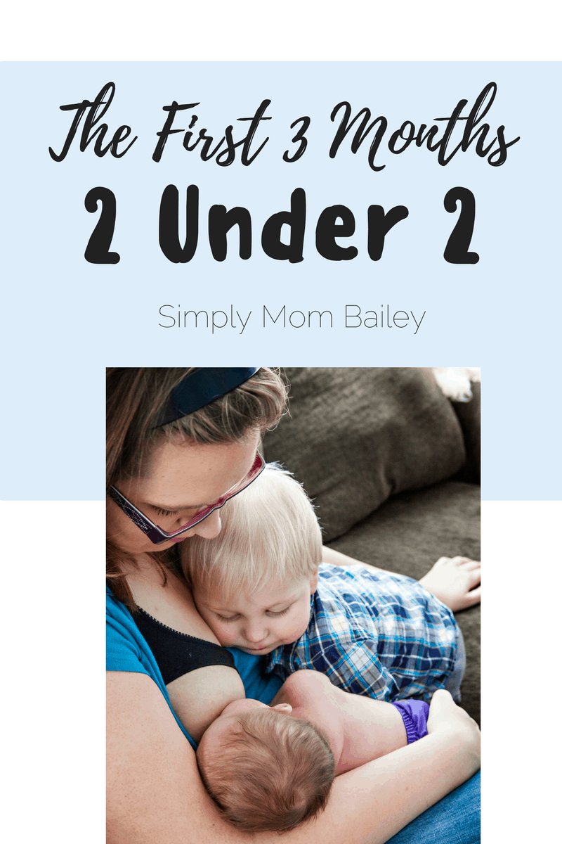 The First 3 Months with 2 Under 2