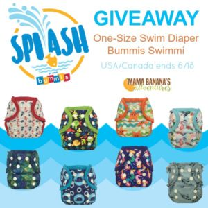 Bummis One-Size Reusable Swim Diaper {Giveaway}