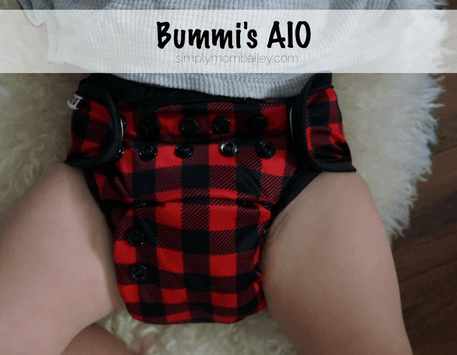 Cloth Diapers at 30 pounds Bummi's AIO