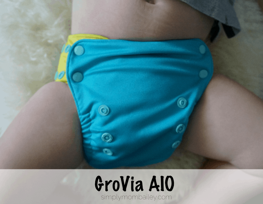 Cloth Diapers at 30 pounds GroVia AIO